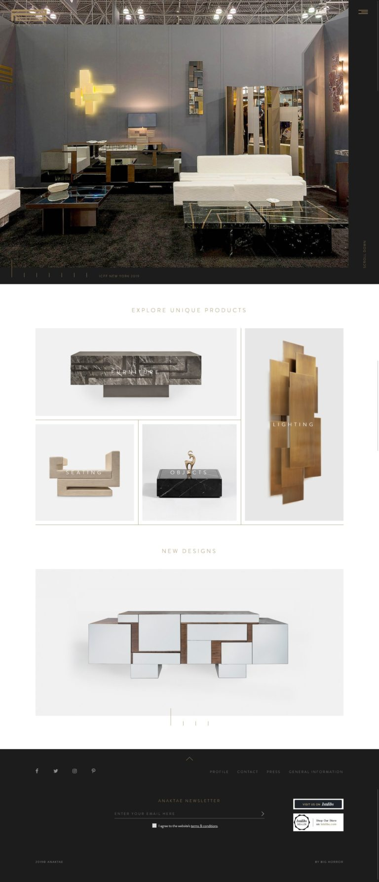 Anaktae — Architecture, Interior Decoration and Product Design