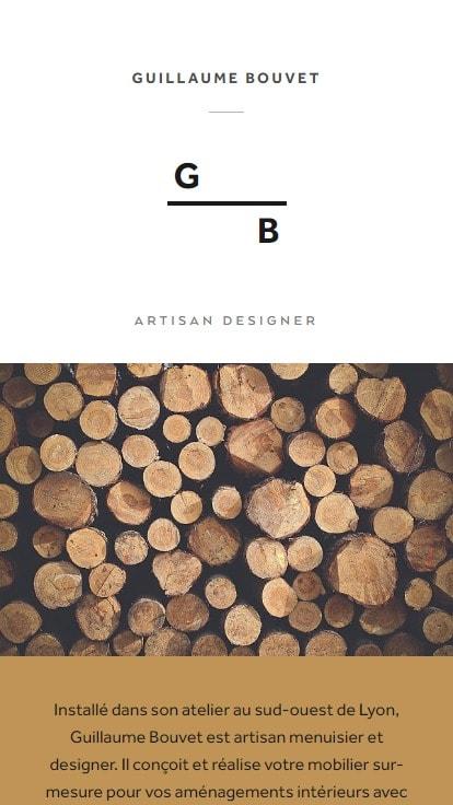 Guillaume Bouvet — Artisan Menuisier, Designer