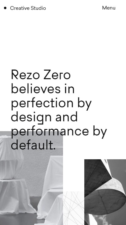 Rezo Zero • Creative Studio