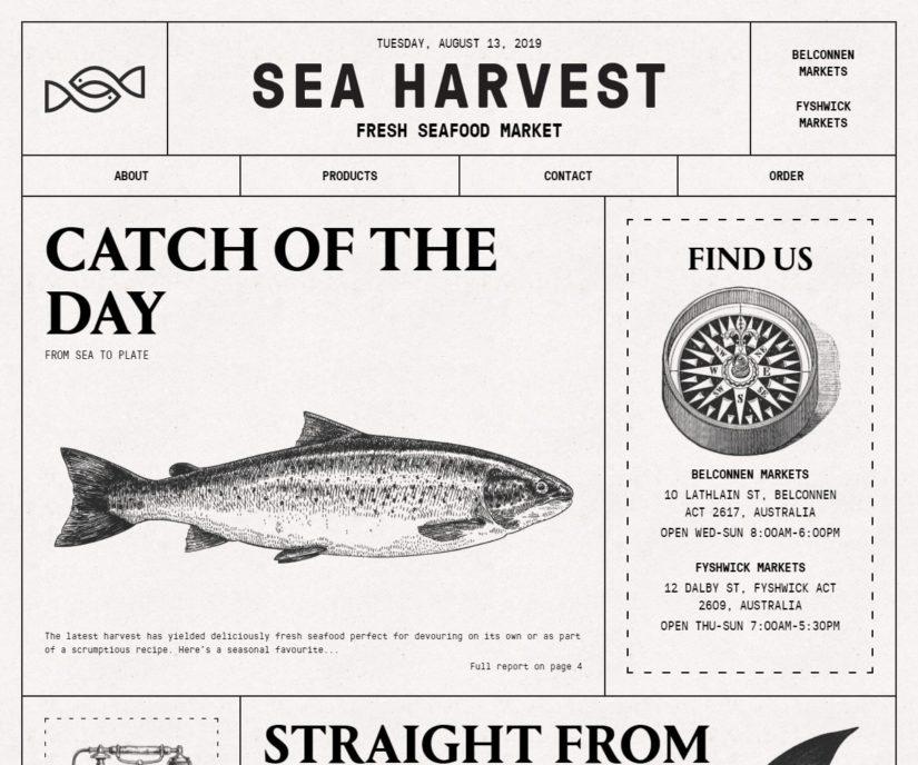 Sea Harvest | Fresh Seafood Market | Canberra