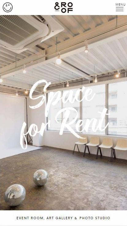 &ROOF (アンドルーフ) - 神楽坂から歩いて5分のレンタルスペース・ギャラリー・スタジオ