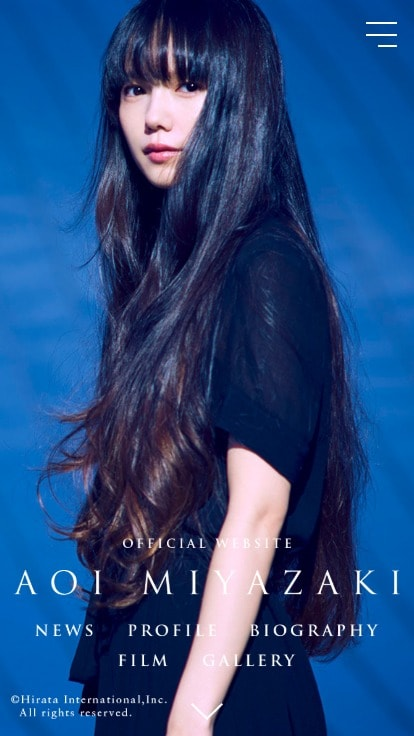 AOI MIYAZAKI official website - 宮﨑あおい