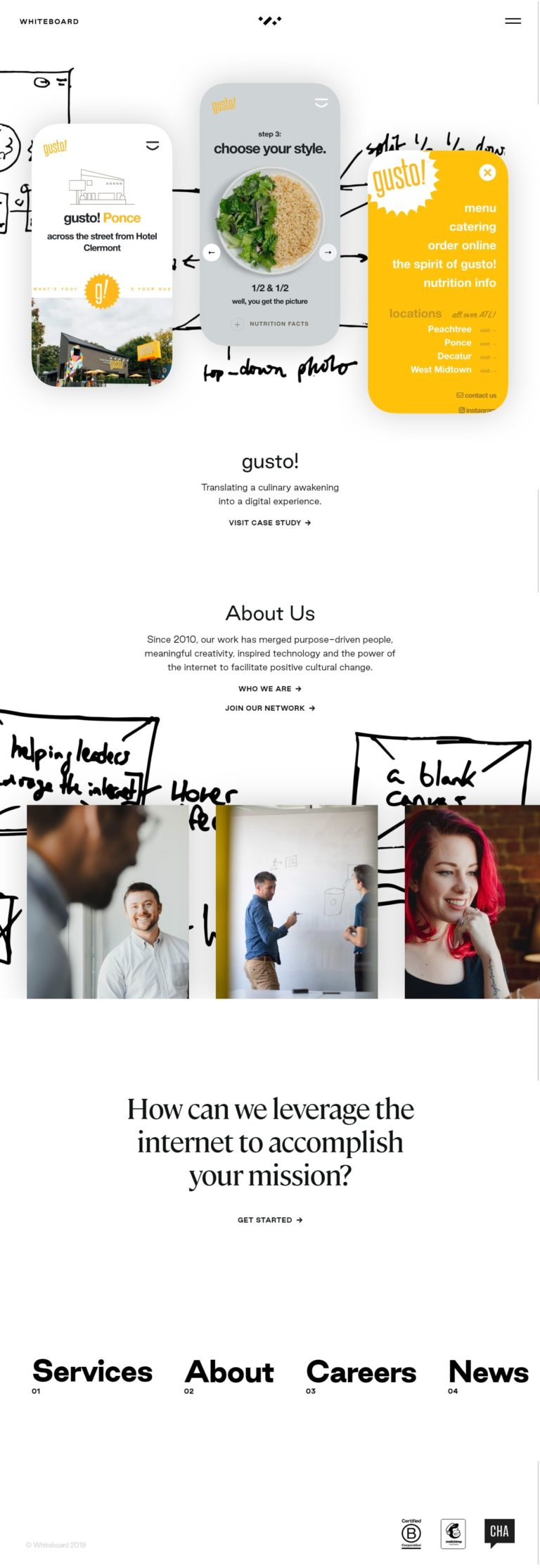 Whiteboard   a creative agency for meaningful brands