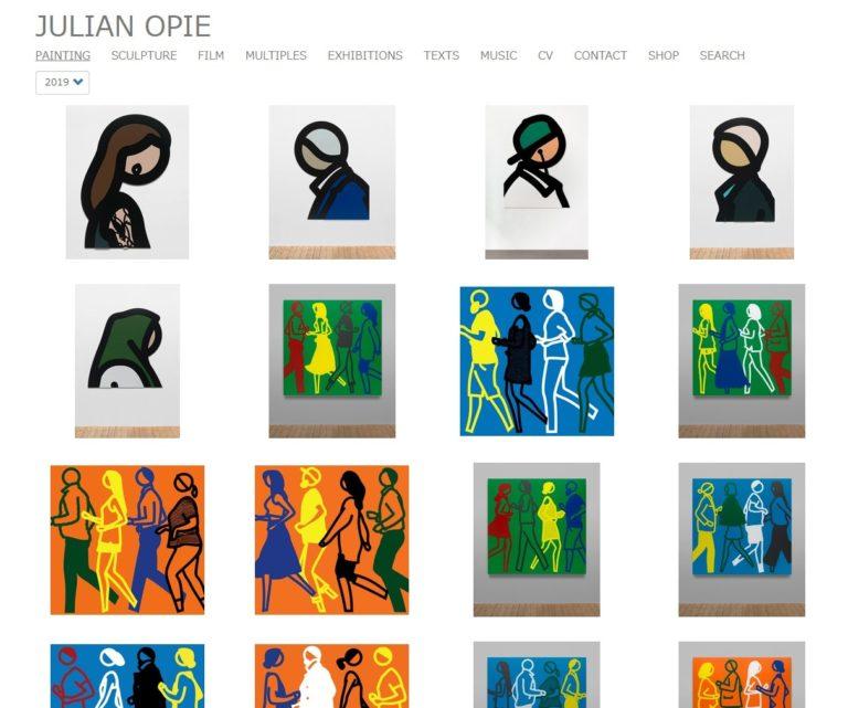 Painting | Julian Opie