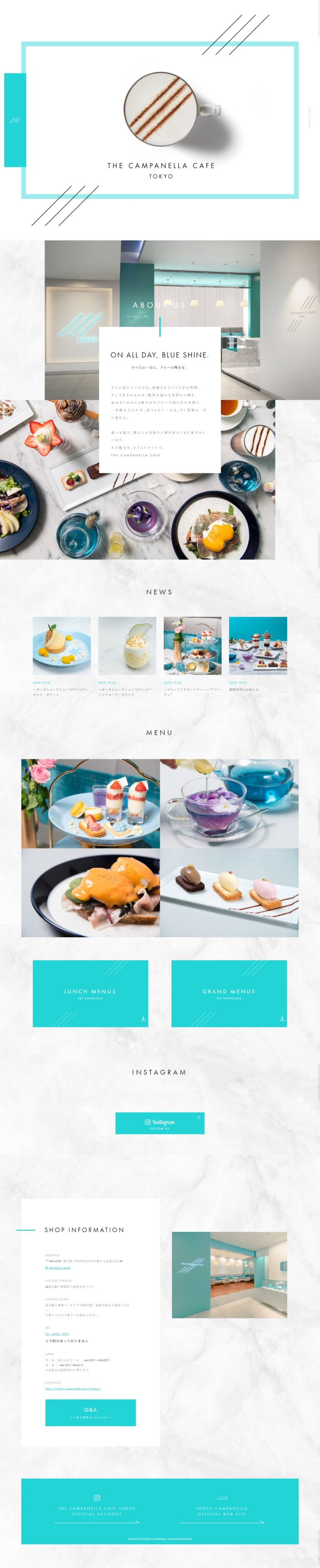 THE CAMPANELLA CAFE│OFFICIAL SITE