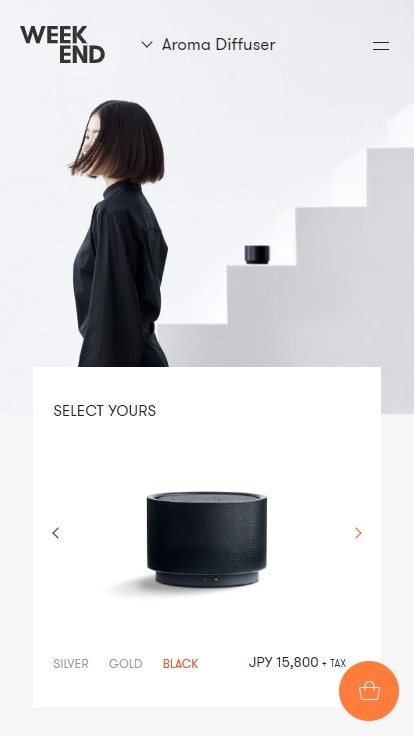 Aroma Diffuser - WEEK END
