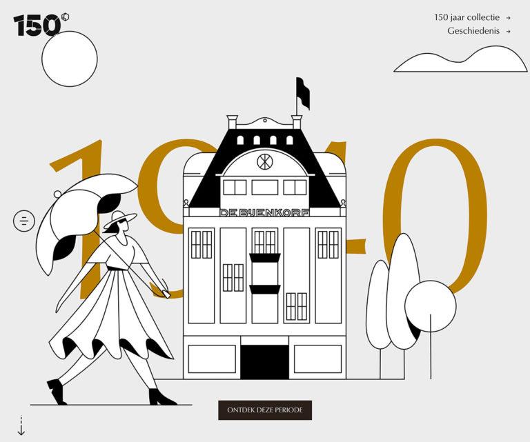 De Bijenkorf 150 jaar
