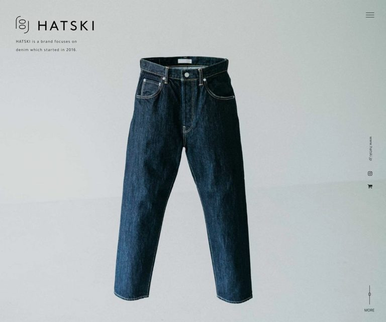 HATSKI - a brand focuses on denim which started in 2016.