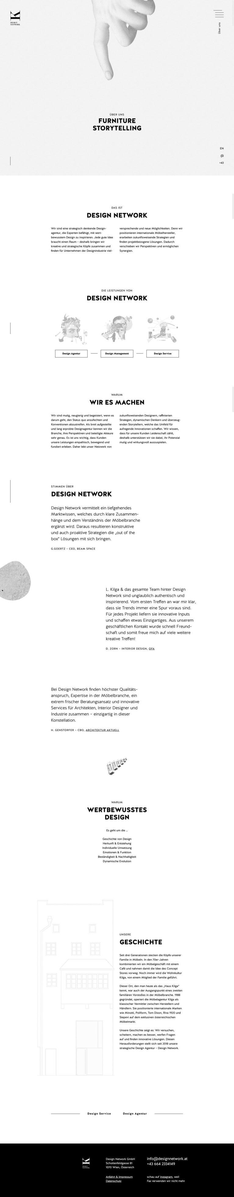 Design Network – Jede Herausforderung braucht Möbel.