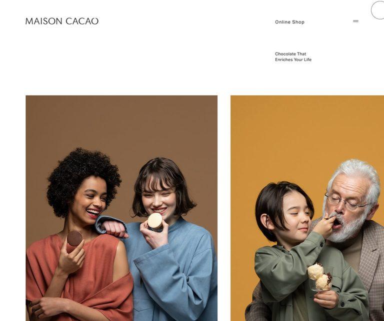MAISON CACAO公式ブランドサイト