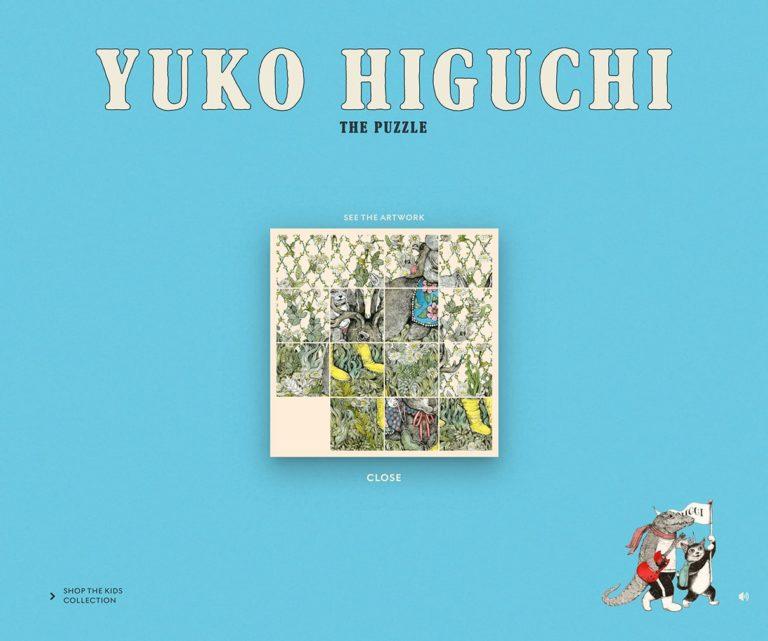 Yuko Higuchi - The Puzzle | Gucci