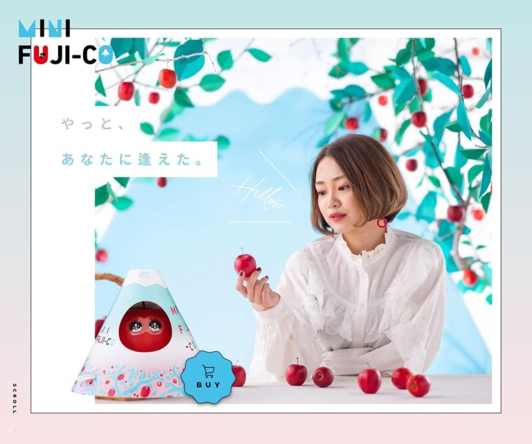 ミニフジコ   MINI FUJI-CO   小さくおいしいリンゴの物語