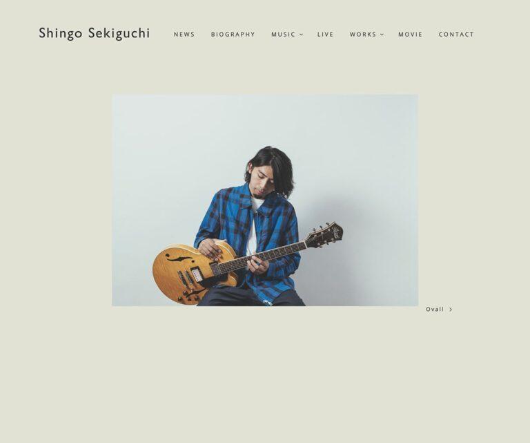 Shingo Sekiguchi / 関口シンゴ